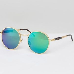 Wildfox Deluxe Reflective Sunglasses